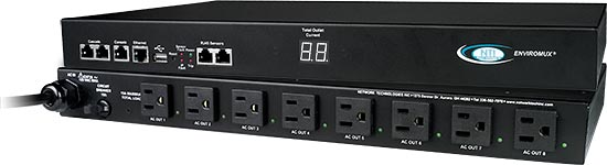 Secure Remote Power Control Unit with Environmental Monitoring